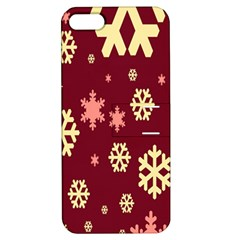 Snowflake Winter Illustration Colour Apple Iphone 5 Hardshell Case With Stand by Alisyart