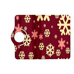 Snowflake Winter Illustration Colour Kindle Fire Hd (2013) Flip 360 Case by Alisyart