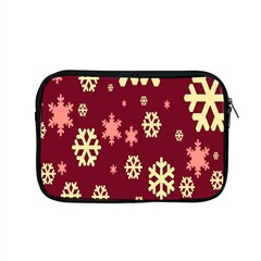 Snowflake Winter Illustration Colour Apple Macbook Pro 15  Zipper Case by Alisyart