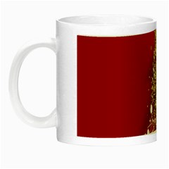 Tree Merry Christmas Red Star Night Luminous Mugs by Alisyart