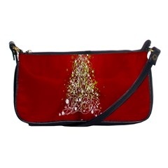 Tree Merry Christmas Red Star Shoulder Clutch Bags by Alisyart