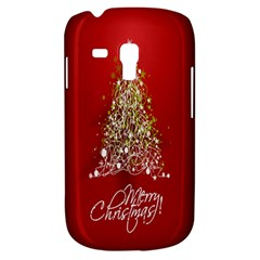 Tree Merry Christmas Red Star Galaxy S3 Mini by Alisyart