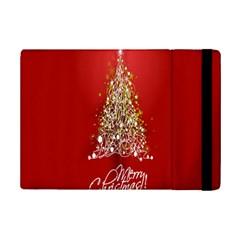 Tree Merry Christmas Red Star Ipad Mini 2 Flip Cases by Alisyart