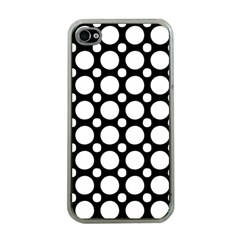 Tileable Circle Pattern Polka Dots Apple Iphone 4 Case (clear) by Alisyart