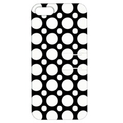 Tileable Circle Pattern Polka Dots Apple Iphone 5 Hardshell Case With Stand by Alisyart