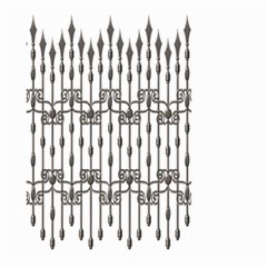 Iron Fence Grey Strong Large Garden Flag (two Sides) by Alisyart