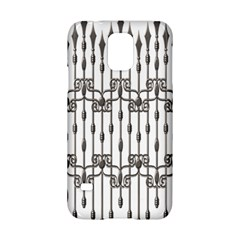 Iron Fence Grey Strong Samsung Galaxy S5 Hardshell Case  by Alisyart