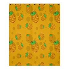 Fruit Pineapple Yellow Green Shower Curtain 60  X 72  (medium)  by Alisyart