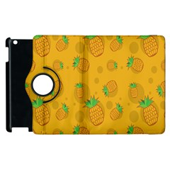 Fruit Pineapple Yellow Green Apple Ipad 2 Flip 360 Case by Alisyart