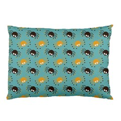 Spider Grey Orange Animals Cute Cartoons Pillow Case (two Sides)
