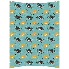 Spider Grey Orange Animals Cute Cartoons Back Support Cushion by Alisyart