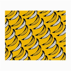 Fruit Bananas Yellow Orange White Small Glasses Cloth (2 Side) by Alisyart