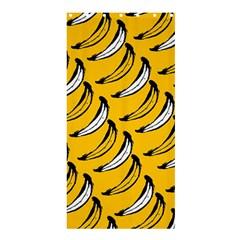 Fruit Bananas Yellow Orange White Shower Curtain 36  X 72  (stall)  by Alisyart