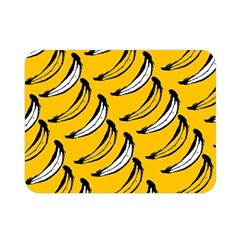 Fruit Bananas Yellow Orange White Double Sided Flano Blanket (mini)  by Alisyart
