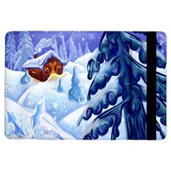 Christmas Wooden Snow Ipad Air Flip by Alisyart