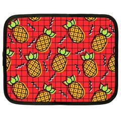 Fruit Pineapple Red Yellow Green Netbook Case (xxl)  by Alisyart