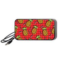 Fruit Pineapple Red Yellow Green Portable Speaker by Alisyart