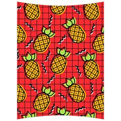 Fruit Pineapple Red Yellow Green Back Support Cushion by Alisyart