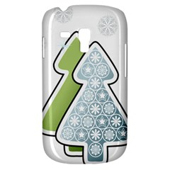 Tree Spruce Xmasts Cool Snow Galaxy S3 Mini by Alisyart