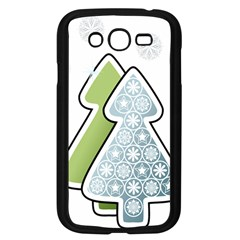 Tree Spruce Xmasts Cool Snow Samsung Galaxy Grand Duos I9082 Case (black) by Alisyart
