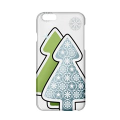 Tree Spruce Xmasts Cool Snow Apple Iphone 6/6s Hardshell Case by Alisyart