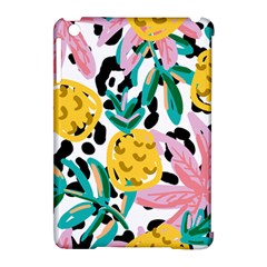 Fruit Pattern Pineapple Leaf Apple Ipad Mini Hardshell Case (compatible With Smart Cover) by Alisyart
