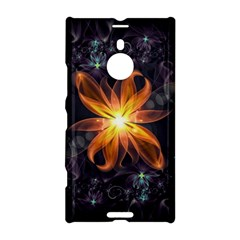 Beautiful Orange Star Lily Fractal Flower At Night Nokia Lumia 1520 by beautifulfractals