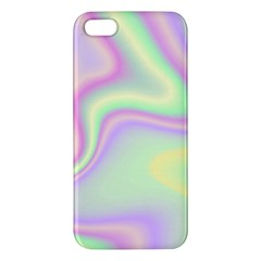 Holographic Design Apple Iphone 5 Premium Hardshell Case by tarastyle