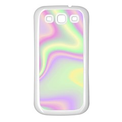 Holographic Design Samsung Galaxy S3 Back Case (white) by tarastyle