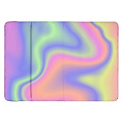 Holographic Design Samsung Galaxy Tab 8 9  P7300 Flip Case by tarastyle