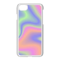 Holographic Design Apple Iphone 7 Seamless Case (white) by tarastyle