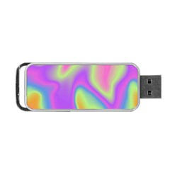 Holographic Design Portable Usb Flash (two Sides) by tarastyle