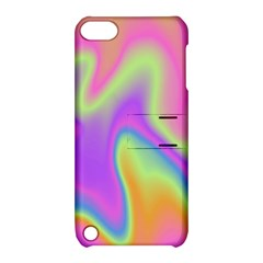 Holographic Design Apple Ipod Touch 5 Hardshell Case With Stand