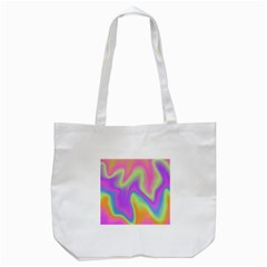 Holographic Design Tote Bag (white)