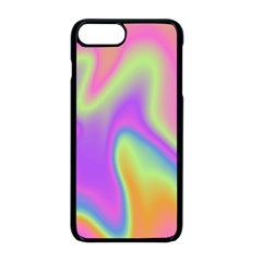 Holographic Design Apple Iphone 8 Plus Seamless Case (black)