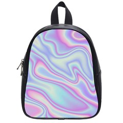 Holographic Design School Bag (small)