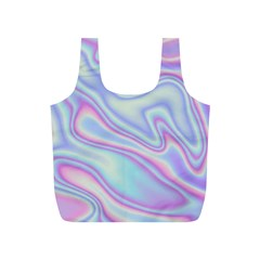 Holographic Design Full Print Recycle Bags (s)  by tarastyle