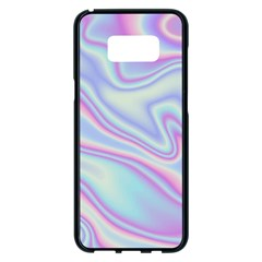 Holographic Design Samsung Galaxy S8 Plus Black Seamless Case