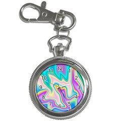 Holographic Design Key Chain Watches
