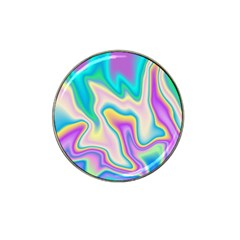 Holographic Design Hat Clip Ball Marker