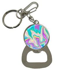 Holographic Design Button Necklaces