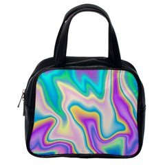 Holographic Design Classic Handbags (one Side)