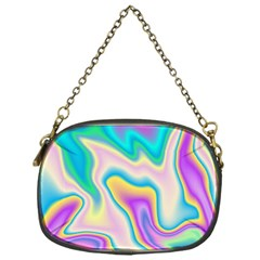 Holographic Design Chain Purses (one Side)
