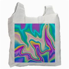 Holographic Design Recycle Bag (one Side)