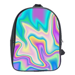 Holographic Design School Bag (large)