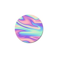 Holographic Design Golf Ball Marker by tarastyle