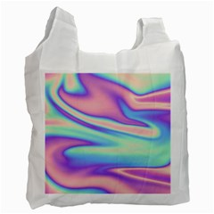 Holographic Design Recycle Bag (one Side) by tarastyle