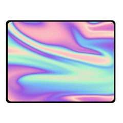 Holographic Design Fleece Blanket (small)