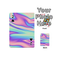 Holographic Design Playing Cards 54 (mini)