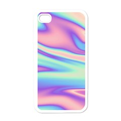 Holographic Design Apple Iphone 4 Case (white)